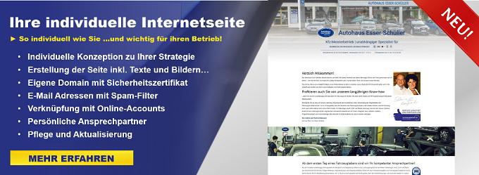 hre Homepage, Website oder Internetseite ist neben dem OAM-Management das wichtigste Online-Marketingtool für Sie.